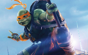 ���� ������, teenage mutant ninja turtles,  out of the shadows, tmnt, michelangelo, out, of, the, shadows