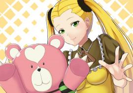 aoki hagane no arpeggio, аниме, фон, взгляд, девушка