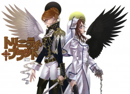 аниме, trinity blood, девушки