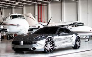 автомобили, -unsort, серебро, самолеты, металлик, суперкар, ангар