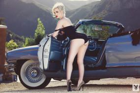 обои для рабочего стола 1920x1280 автомобили, -авто с девушками, девушка, carissa, white, автомобиль, фон, взгляд