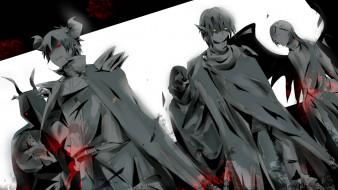 аниме, hataraku maou-sama, демоны