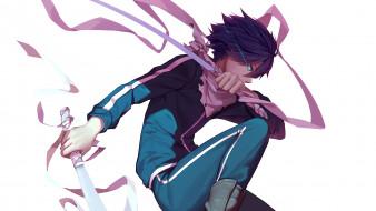 аниме, noragami, Ято, бездомный, бог