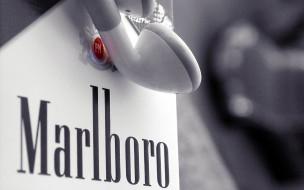 бренды, marlboro, сигареты, наушники