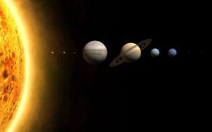 планеты, солнце