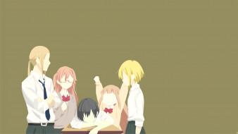 аниме, tanaka-kun wa itsumo kedaruge, tanaka-kun, wa, itsumo, kedaruge