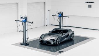 Toyota FT-1 Concept 2014 обои для рабочего стола 2133x1200 toyota ft-1 concept 2014, автомобили, toyota, 2014, concept, ft-1