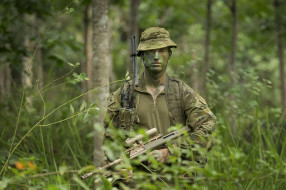 Australian Army, оружие, солдат