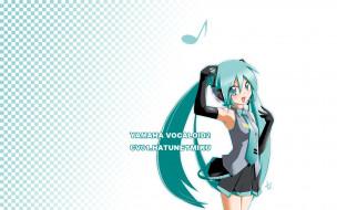 обои для рабочего стола 1920x1200 аниме, vocaloid, фон, взгляд, девушка