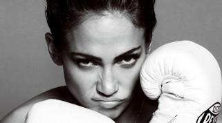 Дженнифер Лопез, певица, черно-белая, актриса, лицо, гримаса, перчатки