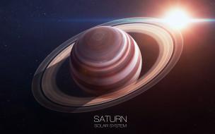 ring, planet, Saturn, solar system