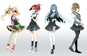 аниме, kiznaiver, девушки