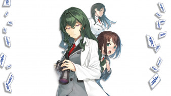 shimoneta, аниме, девушка, взгляд, фон