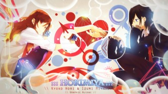horimiya, аниме, персонажи