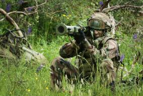 French Army, оружие, солдат, Anti-tank weapon