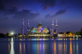 crystal mosque, города, - мечети,  медресе, мечеть