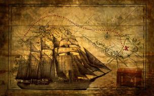 разное, глобусы,  карты, клад, корабль, флибустьеры, пираты, пиратская, карта, сокровищ