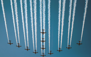 Qatar National Day, Doha, Air Show, Planes