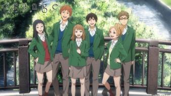 orange, аниме, персонажи