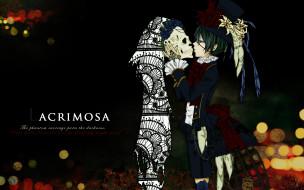 аниме, kuroshitsuji, персонажи