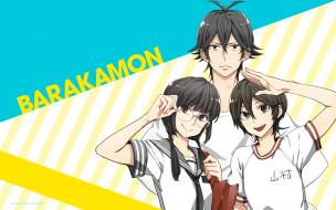 barakamon, аниме, персонажи