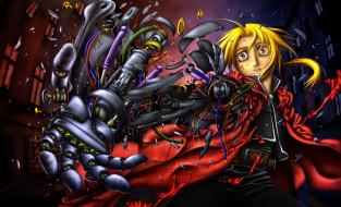 аниме, fullmetal alchemist, персонаж