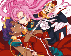 аниме, revolutionary girl utena, меч, девушки