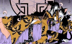аниме, xxxholic, персонажи