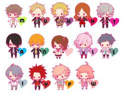 аниме, brothers conflict, малыши, братья