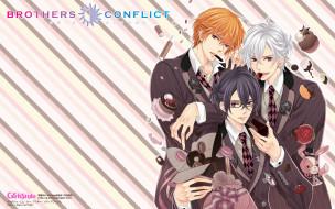 аниме, brothers conflict, братья