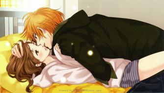 аниме, brothers conflict, поцелуй