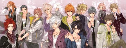 аниме, brothers conflict, парни, братья