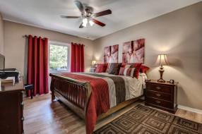 интерьер, спальня, мебель, комната
