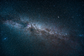 звезды, космос, бесконечность, млечный путь, ночь
