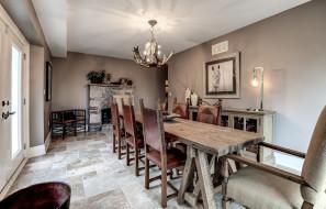 интерьер, столовая, комната, мебель