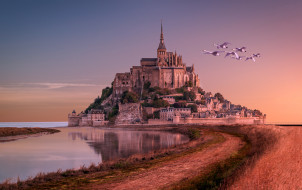 mont-saint-michel, ������, - ������,  �����,  ��������, ���������