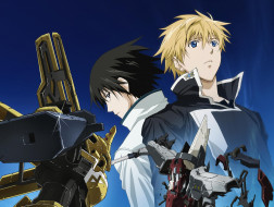 аниме, broken blade, робот, парни