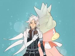 аниме,  gray-man, парень, покемон