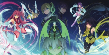 ao no kanata no four rhythm, аниме, aokana, персонажи