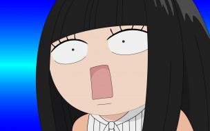 аниме, kimi ni todoke, взгляд, фон, девушка