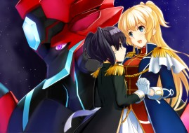 regalia,  the three sacred stars, аниме, персонажи