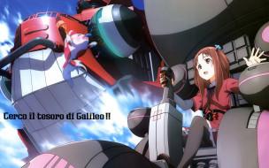 Galilei Donna обои для рабочего стола 2560x1600 galilei donna, аниме, девушка, взгляд, фон