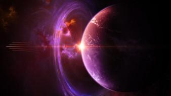 обои для рабочего стола 1920x1080 космос, арт, планета, вселенная, галактика