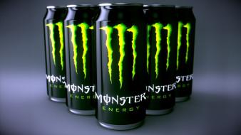 бренды, monster energy, банки, напиток