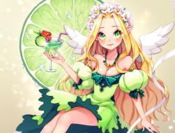обои для рабочего стола 2000x1516 аниме, ангелы,  демоны, девушка