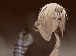 аниме, fullmetal alchemist, эдвард