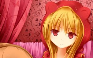 аниме, sakurasou no pet na kanojo, девушка, взгляд, фон