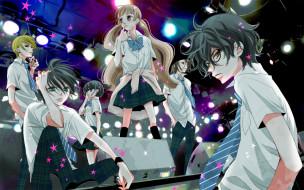 аниме, fukumenkei noise, персонажи