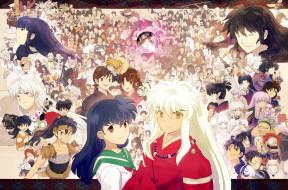 аниме, inuyasha, персонажи, инуяша