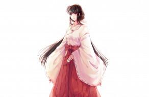 аниме, inuyasha, кикио